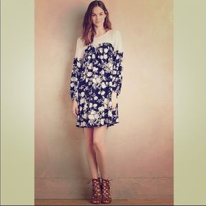 Anthropologie Sunday in Brooklyn Floral Dress